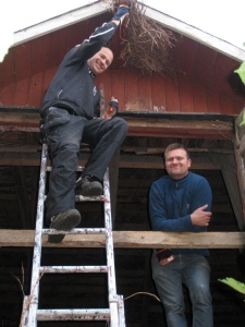 Stefan och Björn, grymt nöjda