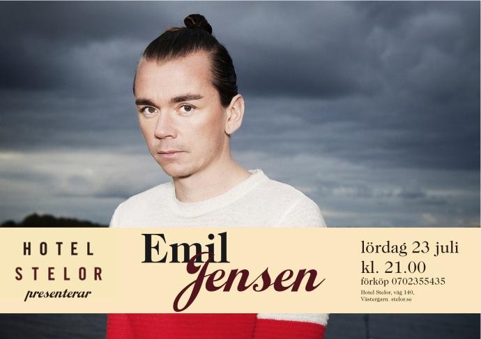 Emil Jenssen 23:e juli 2001 på Hotel Stelor