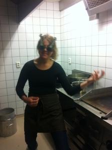 En vanlig dag i köket